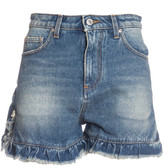 MSGM Ruffle Trim Shorts