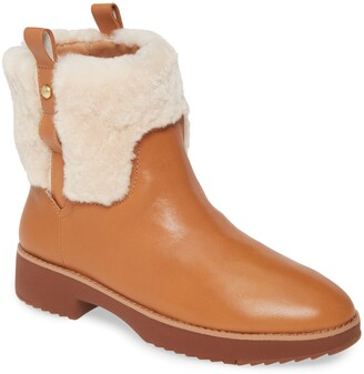 FitFlop Mimie Genuine Shearling Trim Bootie
