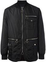 DSQUARED2 zip detail bomber jacket - men - Polyamide/Polyester/Polyurethane - 48