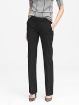 Banana Republic Petite Logan Trouser-Fit Washable Wool-Blend Pant