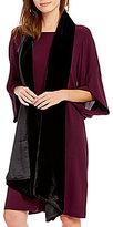 Eileen Fisher Lined Velvet Wrap