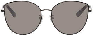 McQ Black Discord Cat-Eye Sunglasses