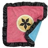 One Grace Place Magical Michayla Binky Blanket, Black, Pink and Turquoise by