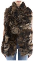S.W.O.R.D. Brown Fur Coat