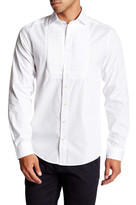 Gant The Tux Solid Long Sleeve Trim Fit Shirt