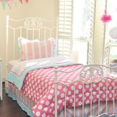 Pam Grace Creations Posh in Paris Reversible Twin Bedding Set