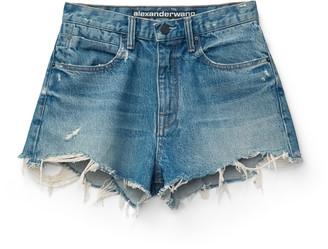 Denim Bite Shorts