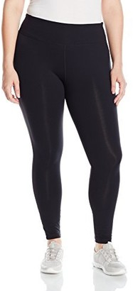 Rainbeau Curves Women's Plus-Size Premier Basix Nylon Legging