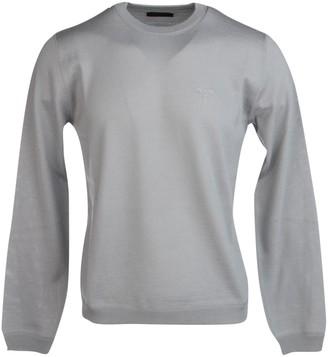 Prada Logo Stitch Detail Sweater