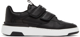 Givenchy Black Velcro Wing Sneakers