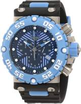 Invicta Men's 10041 Subaqua Nitro Diver Chronograph Black and Blue Dial Watch