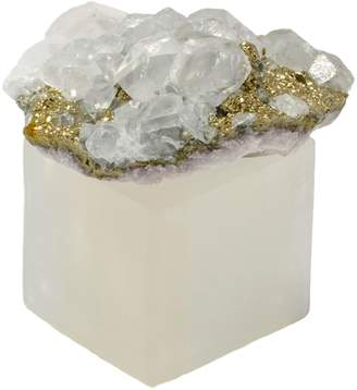 Mapleton Drive Crystal Cluster with Stand Paper Weight