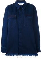 Marques Almeida Marques'almeida denim oversized shirt