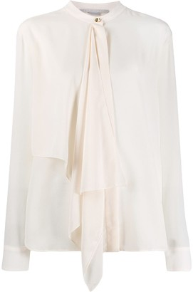 Stella McCartney Pussy Bow Shirt