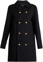 A.P.C. Double-breasted cotton pea coat