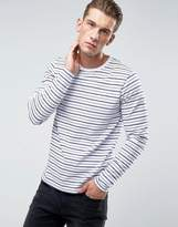 Bellfield Long Sleeve T-Shirt In Stripe