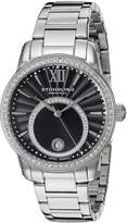 Stuhrling Original Women's 544B.02 Symphony Analog Display Swiss Quartz Silver Watch