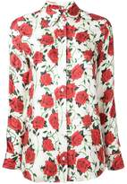 Alexander Wang rose print shirt