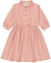 HELLO SIMONE Nephtys Striped Shirt Dress