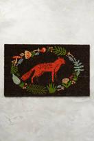 Anthropologie Ringed Fox Doormat