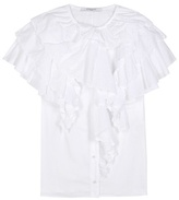 Givenchy Ruffled Cotton Top