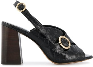 Tila March slingback open-toe sandals