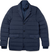 Dunhill - Convertible Quilted Shell Down Jacket