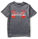 Under Armour Big Boys 8-20 Big Logo Hybrid Short-Sleeve Tee