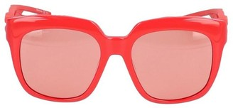 Balenciaga D-Frame Tortoiseshell Sunglasses