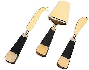 Godinger Nero D'Oro Cheese Servers, Set of 3 - 100% Exclusive