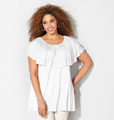 Avenue Tiered Ruffle Top
