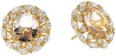 Nina Raven Crystal Stud Earrings