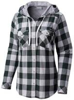 Columbia Women's Michigan State Spartans Times Two Hooded Button-Down Shirt