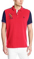 U.S. Polo Assn. Men's Classic Fit Color Block Polo Shirt