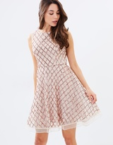Lumier Believe With Your Heart Flare Midi Dress