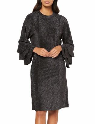 Scotch & Soda Maison Women's Ruffled Dress with Lurex