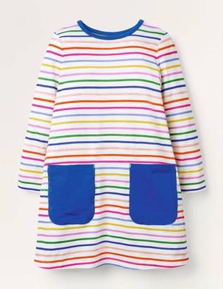 Fun Pocket Jersey Dress