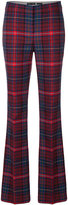 Tommy Hilfiger flared checkered trousers