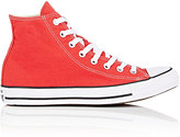 Converse MEN'S CHUCK TAYLOR ALL STAR CANVAS HIGH-TOP SNEAKERS-RED SIZE 7 M