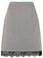 Claudie Pierlot Succes Houndstooth Skirt