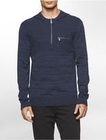 Calvin Klein Parallel Ribbed Hooded Sweater