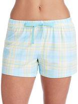 Jockey Women's Pajamas: Plaid Boxer Shorts
