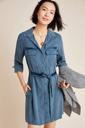 Cloth & Stone Chambray Utility Shirtdress