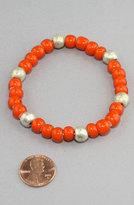 Hudson AFRICAN TRADE BRACELETS Bay Ethiopian Nickel Bracelet (Orange/Silver)