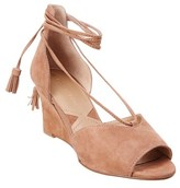 Adrienne Vittadini Marcey Suede Wedge.