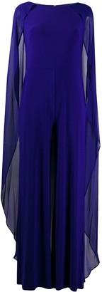Lauren Ralph Lauren Hollie cape jumpsuit