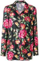 Dolce & Gabbana rose print pyjama shirt