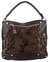 MZ Wallace Leopard Print Kit Satchel