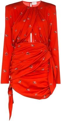 Magda Butrym San Remo Floral Mini Dress