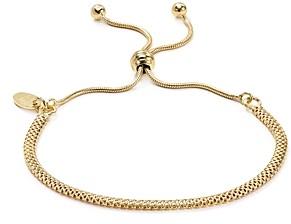 Argentovivo Mesh Chain Adjustable Bracelet